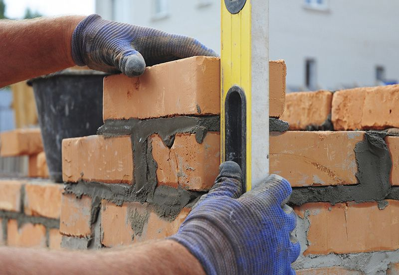 Bricks laying
