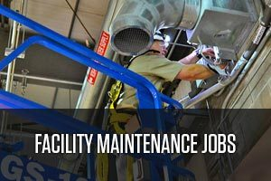 A worker of facility maintenance