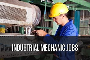An industrial mechanic worker