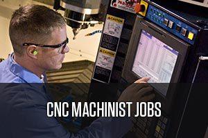 A CNC machinist worker