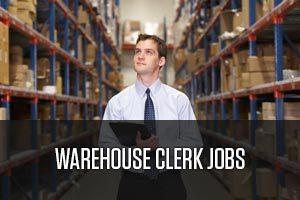 Warehouse clerk job