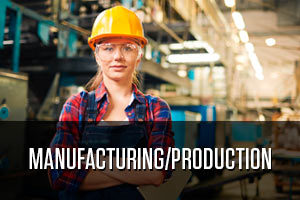 Woman worker of production