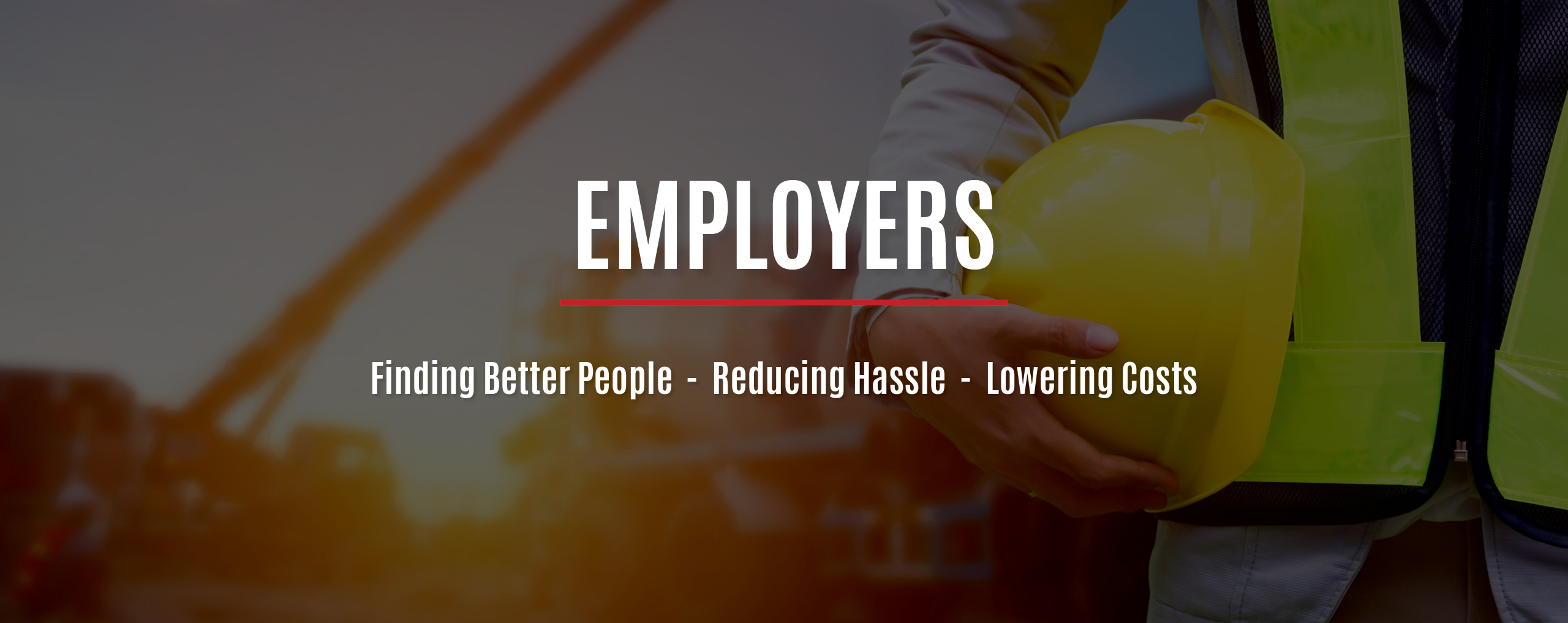Employers page