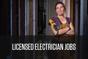 a licensed electrician woman