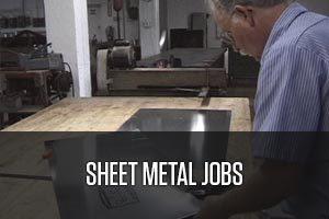 Sheet metal jobs