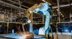 robot welding cm