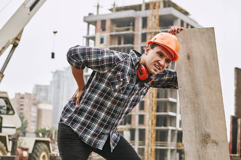 Relieving Back Aches & Pains from a Construction Job