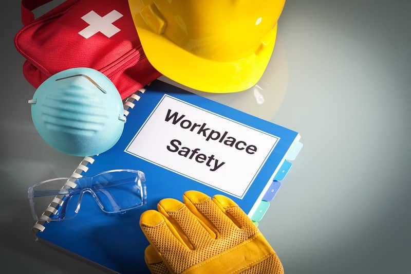 Workplace Safety Handbook Manual and Occupational Equipment for Work Training-cm
