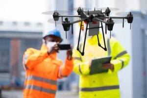 Industrial Unmanned Drone Survey And Discovery-cm